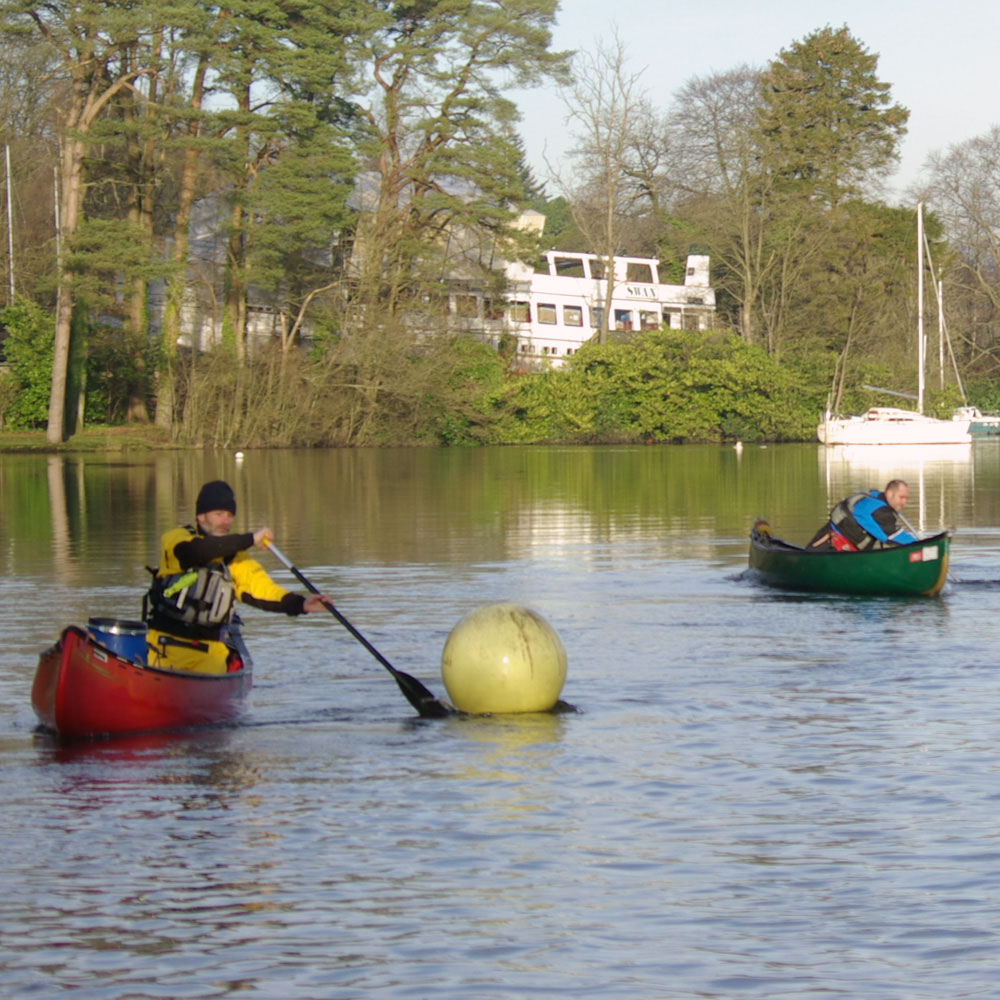 BCU 3 Star Canoe Training and Assessment