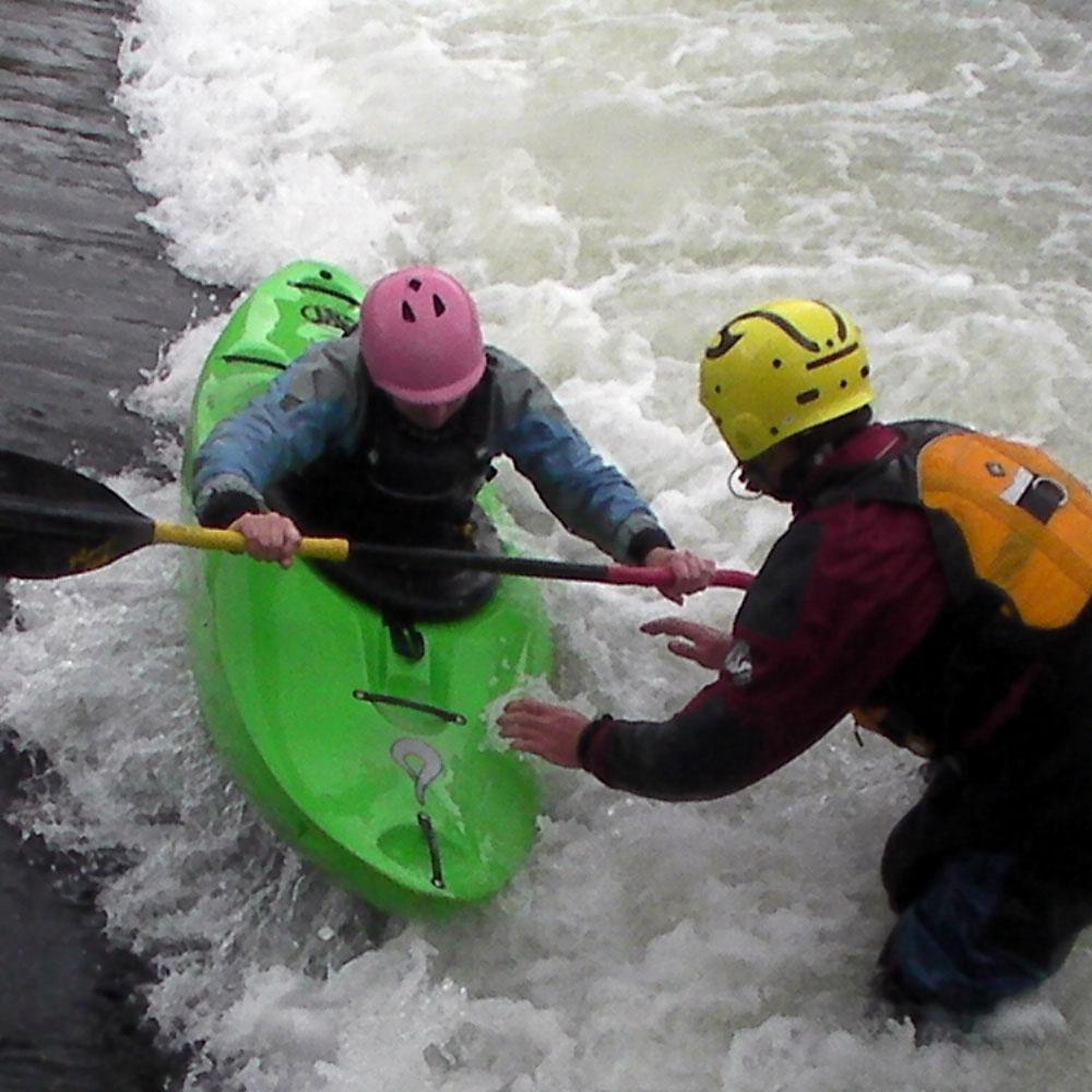 BCU 3 Star White Water Kayak