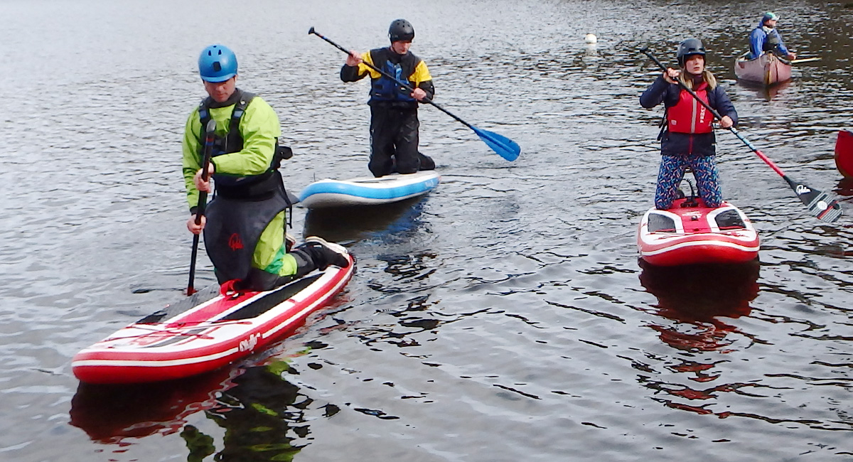 British Canoeing SUP Coach Assessment