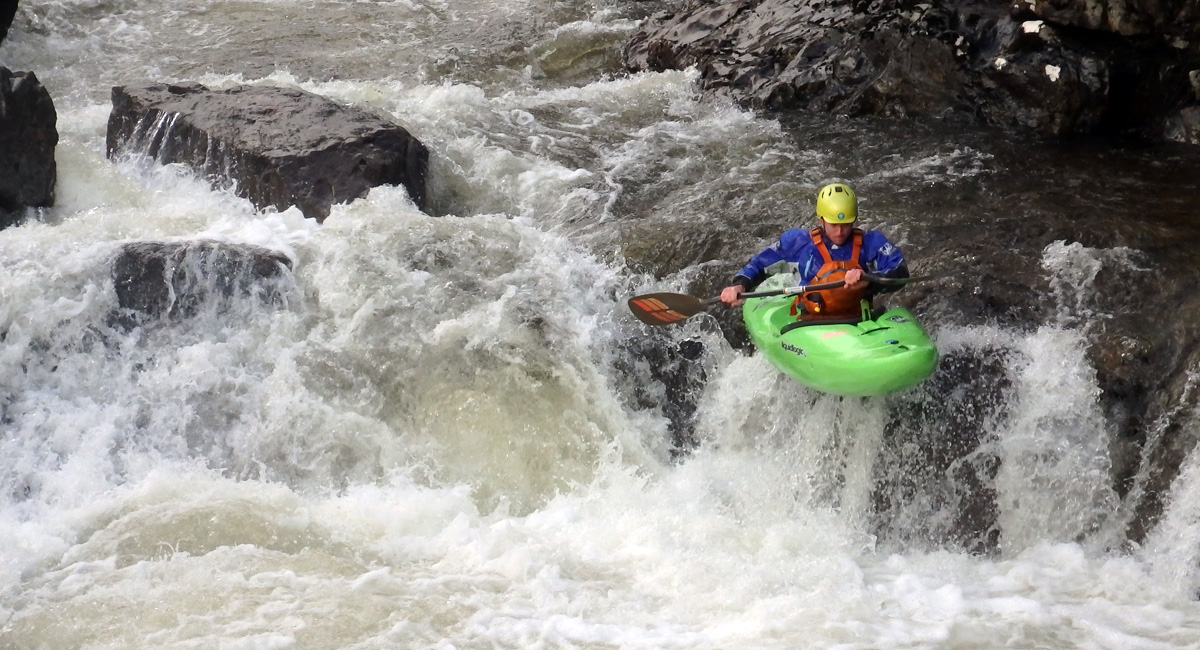 Advanced White Water Kayak Training