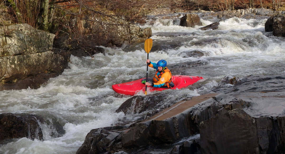 Advanced White Water Kayak Assessment