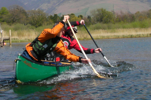 Improving Canoe Skills