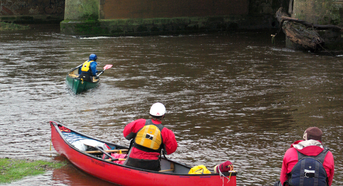 Moderate Water Canoe Coach Assessment