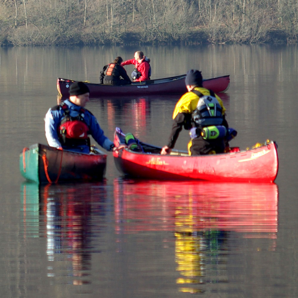 BCU Moderate Water Endorsement Training - canoe