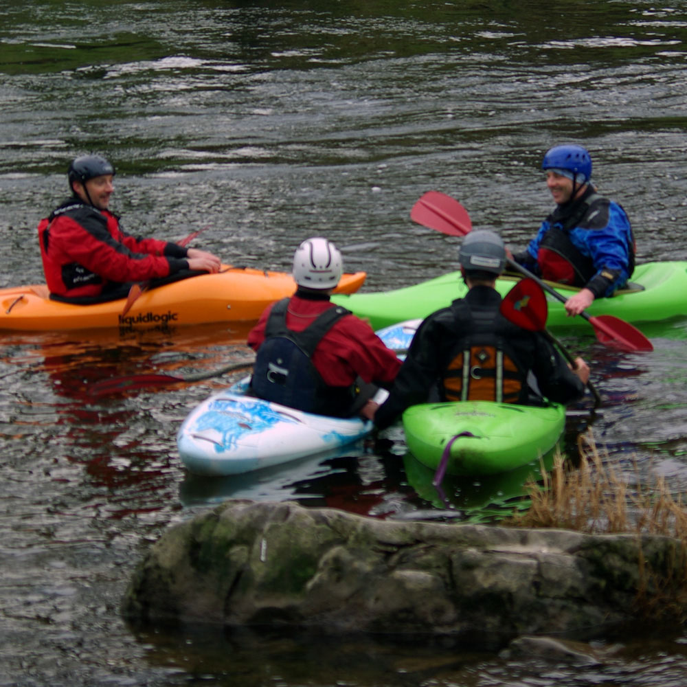BCU Moderate Water Endorsement Training - White Water