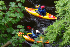 Scottish White water Paddling